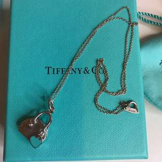 Tiffany bag necklace