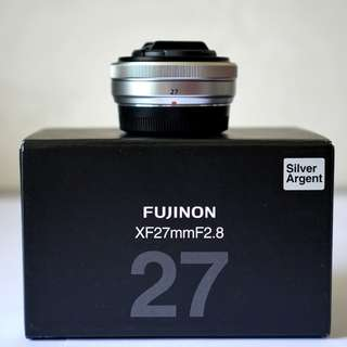 Fujinon XF 27mm F2.8 Silver Like NEW