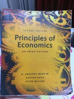 PRINCIPLES OF ECONOMICS (ASIAN EDITION) - Ekonomi Mikro & Ekonomi Makro