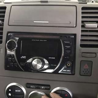 DVD player ( Nissan Latio )