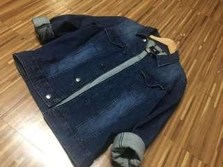 H&M Deep Blue Denim Jacket