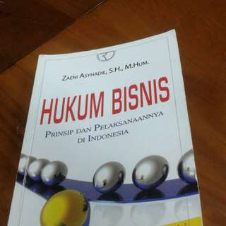 Buku Hukum Bisnis