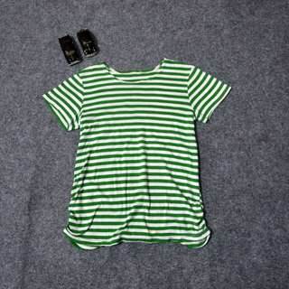 Unbrand striped tee