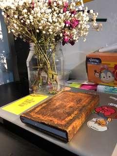 Rustic notebook