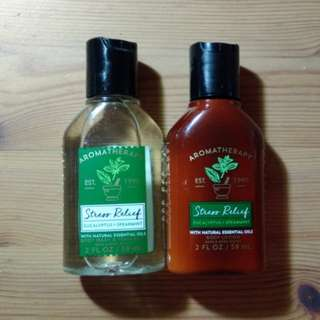 Bath & Body Works Travel-size Stress Relief Items
