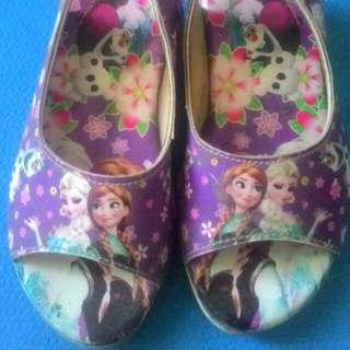 preloved sandal anak frozen