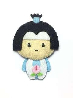 (Sold) customised tao tai lang felt doll