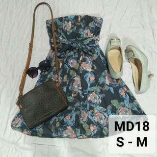 Floral tubel dress