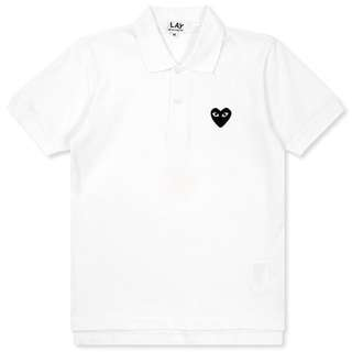 Comme des Garcons PLAY Black Emblem Women's Polo Shirt