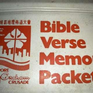 Billy Graham memory Bible verse