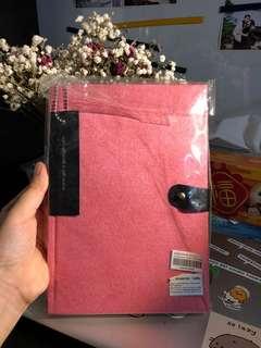 Pink mate notebook