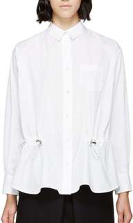 Sacai luck white shirt