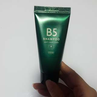 B5 Shampoo anti hair loss