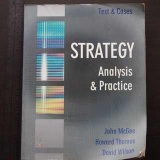 Strategy Analysis and Practice (MBA Book)