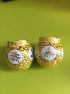 Yellow Jambul bird cup