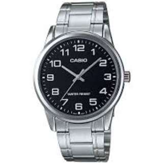 Casio MTP-V001D-1B Silver Stainless Watch for Men - COD FREE SHIPPING
