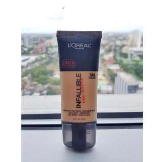 L'Oréal Paris Pro Matte Infallible Foundation