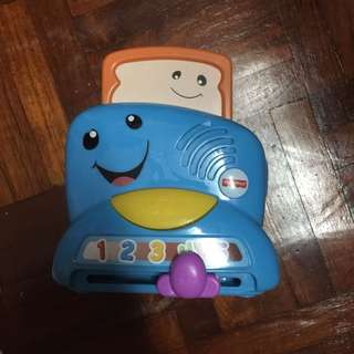 Fisher Price Toaster