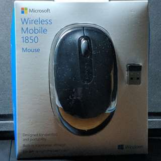 BNIB Microsoft Wireless Mobile 1850 Mouse for sale