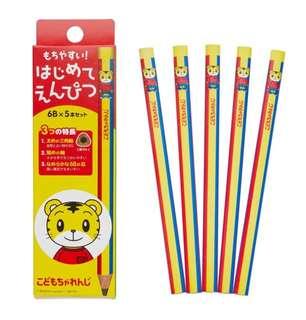 日本製巧虎三角學習鉛筆✏️(日本內銷版) 🇯🇵日本直送🇯🇵