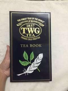Free SF TWG TEA BOOK