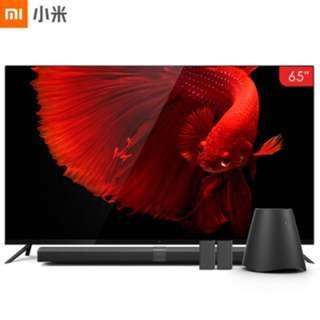 "TV Xiaomi 65"" 4 Series,Ultra Slim Frameless Metal Design,Home Theater Recommend"
