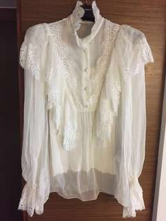 Dolce and Gabbana chiffon blouse