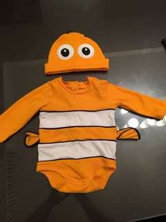 Nemo Outfit 12 - 18 months