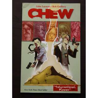 Chew VOL 2 by John Layman and Rob Guillory