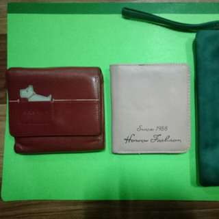 3pcs wallet (sale as bundle)