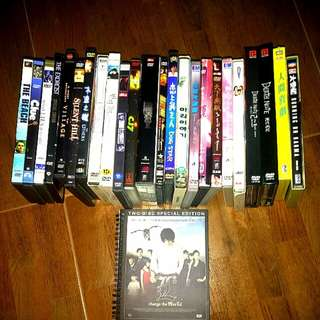 Used hk English Japan Korean DVD limited Edition version