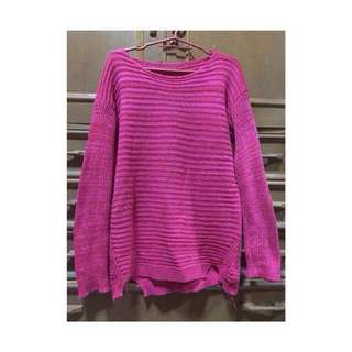 💜Winter knit blouse