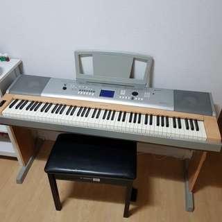 Yamaha Portable Grand DGX-620 Digital Keyboard - 88 Full Size Touch Sensitive Piano Style Keys