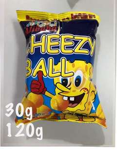 20% MORE ALIBABA CHEEZY BALL cheese ball CORN CHIPS 30g 120g
