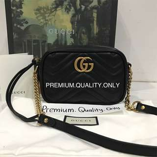 Customer's Order Marmont bag Gucci in black