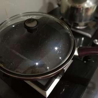 2 pots & 2 pans (Tefal & Supor)