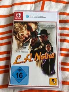 Nintendo Switch L.A Noire