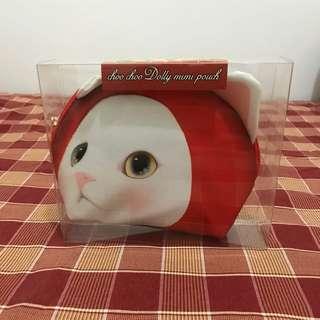 全新Choo Choo Dolly Mini Pouch (accessories bag or makeup bag)
