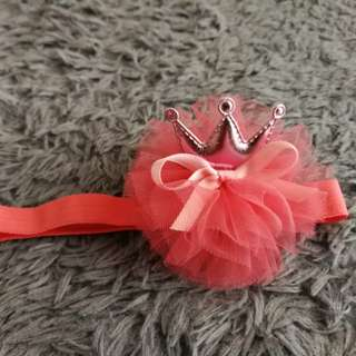 Baby headband/hairclip