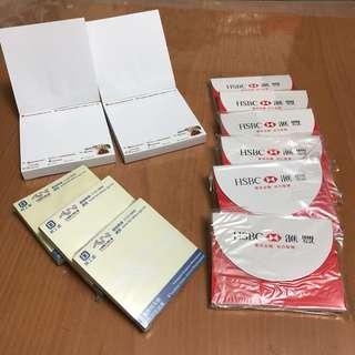 便條紙11疊   memo paper 11 packs