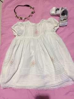 Baptismal/Christening Dress 12mos