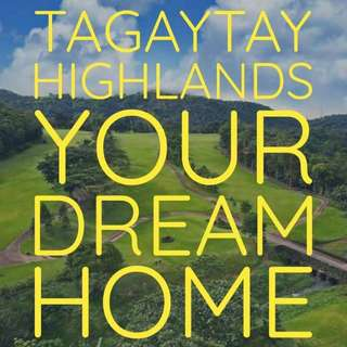 Tagaytay Highlands house or Lot for sale