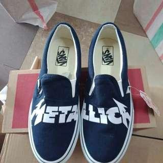 Vans Slip On Metallica