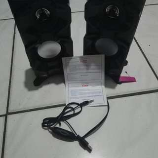 Speaker aktif FLECO F026 (BARU)