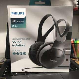 Brand New- Philips Stereo Headphones