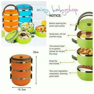 3 Layer Lunch Box