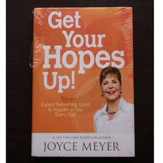 Get Your Hopes Up by Joyce Meyer (Hardbound)