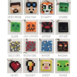 Minecrafts Hama designs