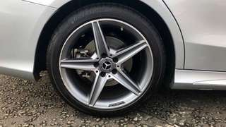 """18"""" AMG Star Rims Staggered"""