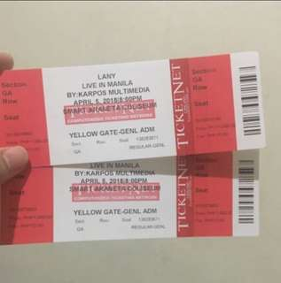 LANY LIVE IN MANILA (DAY 1)